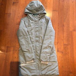 Ivivva grey long jacket size 12!